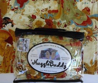 'Nugglebuddy New! Microwavable Moist Heat & Aromatherapy Organic Rice Pack-Cold Pack. Gorgeous Timeless Treasure'S Geisha Girl Fabric Infused With Sweet Lavender Aromatherapy! The Perfect Gift!