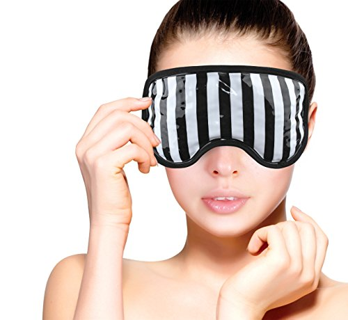 94ca4e49 Gel Bead Ice Eye Mask By Fomi Care | Cooling Technology For Relaxing Sleep  | Blackout