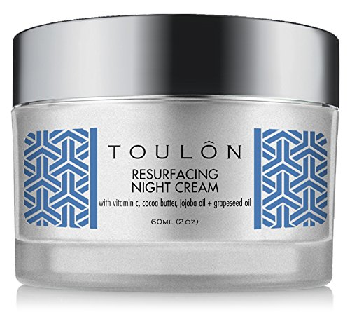 Night Face Cream For Women - Best Natural Face Moisturizer For Dry Skin  With Vitamin C, Cocoa Butter & Grapeseed Oil To Build Collagen, Reduce Fine