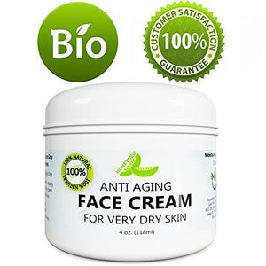 Best Anti Aging Face Cream For Men And Women - Anti Wrinkle Eye Cream - Daily Moisturizer Cream For Dry And Oily Skin - Skin Tightening Treatment - Natural Unscented Lotion - Collagen Beauty Cream