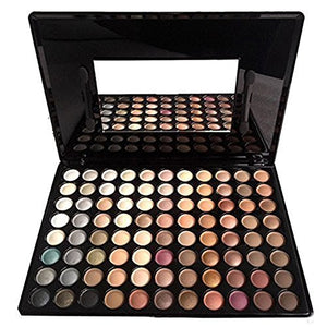 Pure Vie Professional 88 Colors Eyeshadow Palette Makeup Contouring Kit #1 - Perfect For Professional As Well As Personal Use