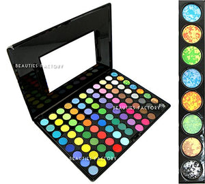 Beauties Factory 88 Color Makeup Eyeshadow Palette #05 - Rainbow