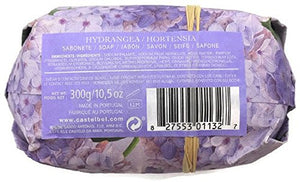 Castelbel Hydrangea Portugese, Imported Scented And Beautifully Wrapped Bath Bar 10.5 Ounce