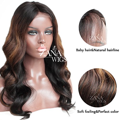 Zana Body Wave Brazilian Human Hair Wigs