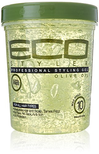 Ecoco Eco Style Gel, Olive, 32 Ounce