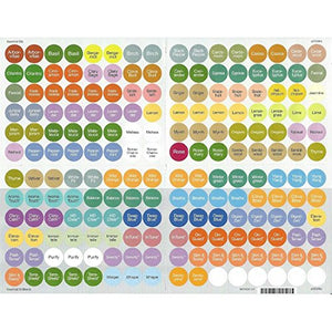 Doterra Essential Oils Bottle Cap Stickers (All)