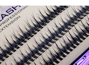 e6107ad49d0 Scala 120Pcs 8-10-12Mm Fish Tail Design 0.1 C Curl 3D Individual Mink