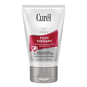 Curel Foot Therapy Cream, 3.5 Ounce