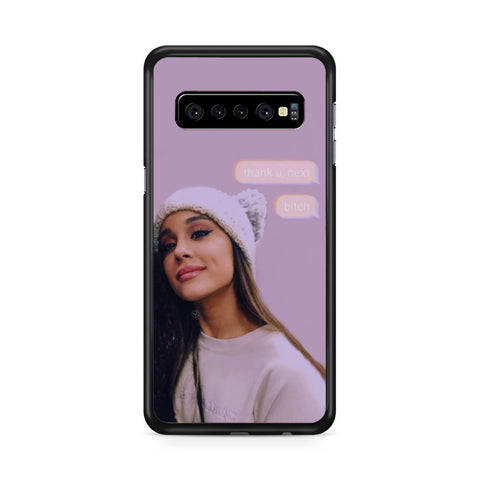 Ariana Grande Thank You Next, Samsung Galaxy S10 Case, Samsung Galaxy S10, Case 2D