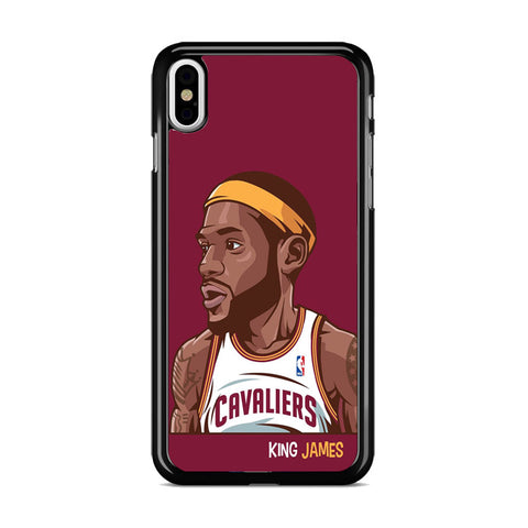 3288ee739b Lebron James HD For iPhone X Case | Casepearl