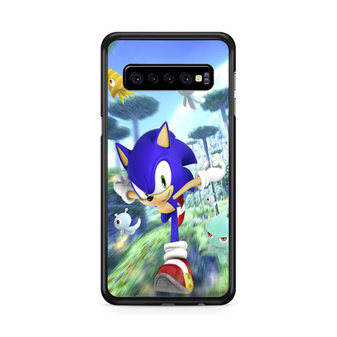 Sonic the Hedgehog, Samsung Galaxy S10 Case, Samsung Galaxy S10, Case 2D