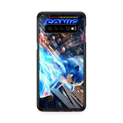 Sonic the Hedgehog Wallpaper, Samsung Galaxy S10 Case, Samsung Galaxy S10, Case 2D