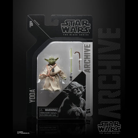 "Star Wars Black Series Archive Yoda 6"" Action Figure"