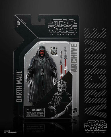 "Star Wars Black Series Archive Darth Maul 6"" Action Figure"