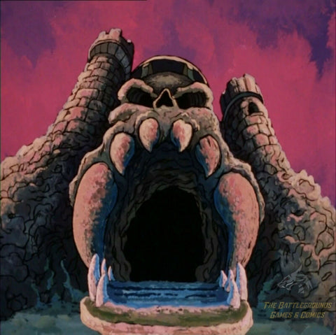 "1/6th Scale MOTU He-Man CASTLE GRAYSKULL 15""x15"" Diorama Backdrop"