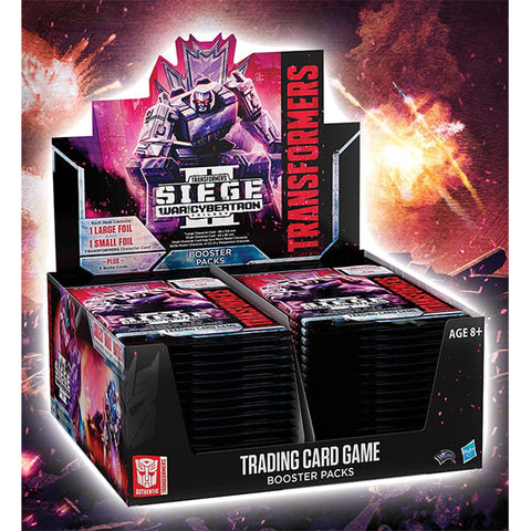 Transformers TCG War for Cybertron Siege II Booster Box