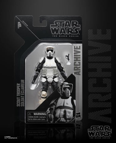 "Star Wars Black Series Archive Scout Trooper 6"" Action Figure"