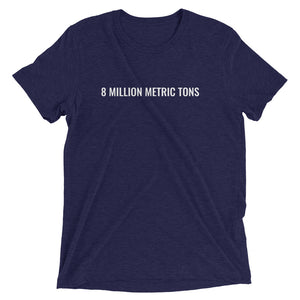 Protect Our Oceans - Metric Ton Short Sleeve T-shirt
