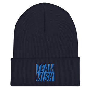 Team Mish - Embroidered Beanie