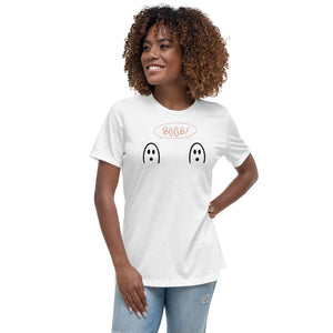 Breast Cancer Awareness - BOOb! - Women's Relaxed T-Shirt