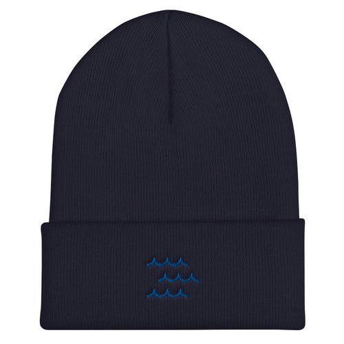 Protect Our Oceans - Be the Wave Cuffed Beanie