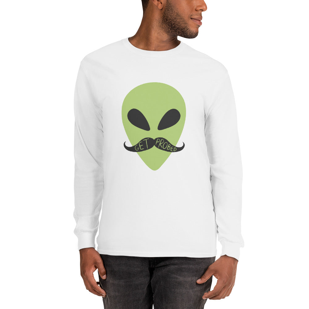 Movember - Get Probed - Long Sleeve T-Shirt