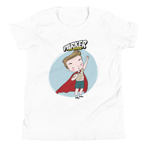 Parker: The WSS Warrior - Rare Disease Day - Youth Short Sleeve T-Shirt