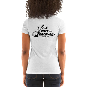 Rock the Recovery - Ladies' short sleeve t-shirt