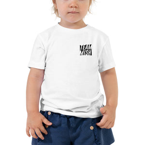 Team Mish Logo - Toddler Short Sleeve Tee