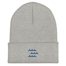 Load image into Gallery viewer, Protect Our Oceans - Be the Wave Cuffed Beanie