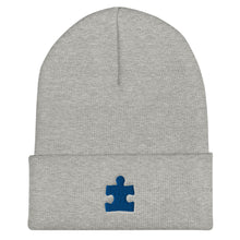 Load image into Gallery viewer, Autism Awareness - Puzzle Piece - Cuffed Beanie