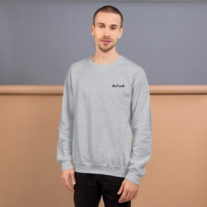 Protect Our Oceans - Don't Suck Sweatshirt