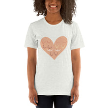 Load image into Gallery viewer, Breast Cancer Awareness - With Love - Short-Sleeve Unisex T-Shirt
