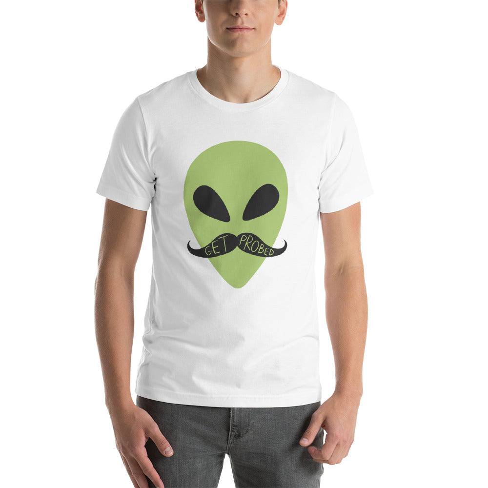 Movember - Get Probed - Short-Sleeve Unisex T-Shirt