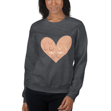 Load image into Gallery viewer, Breast Cancer Awareness - With Love - Unisex Sweatshirt