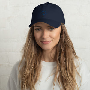 Protect Our Oceans - Be the Wave Dad Hat