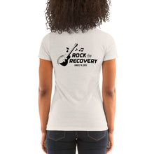 Load image into Gallery viewer, Rock the Recovery - Ladies' short sleeve t-shirt