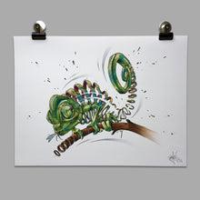 "Load image into Gallery viewer, Fine Art Print ""Chameleon Slice"""