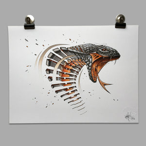 "Fine Art Print ""Cobra Slice"""