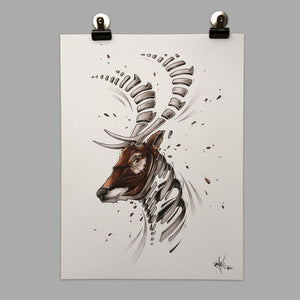 "Fine Art Print ""Deer Slice"""