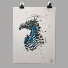 "Load image into Gallery viewer, Fine Art Print ""Dragon Slice"""