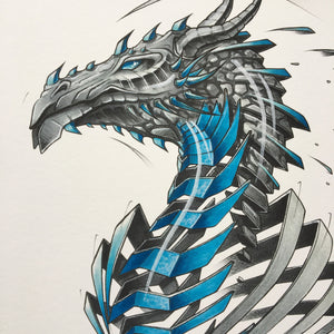 "Fine Art Print ""Dragon Slice"""