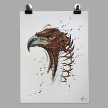 "Load image into Gallery viewer, Fine Art Print ""Eagle Slice"""