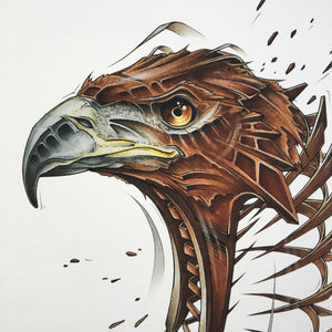 "Fine Art Print ""Eagle Slice"""
