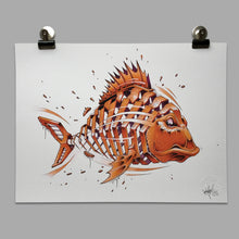 "Load image into Gallery viewer, Fine Art Print ""Carp Slice"""