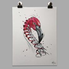 "Load image into Gallery viewer, Fine Art Print ""Flamingo Slice"""