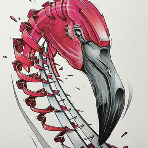 "Fine Art Print ""Flamingo Slice"""