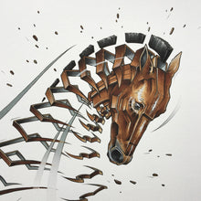 "Load image into Gallery viewer, Fine Art Print ""Horse Slice"""