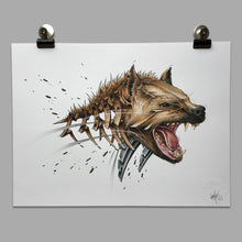 "Load image into Gallery viewer, Fine Art Print ""Hyena Slice"""
