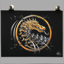 "Load image into Gallery viewer, Fine Art Print ""Mortal Kombat Slice"""